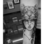 Tiger Tattoo Girl