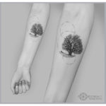 Tree of Solitude Tattoo