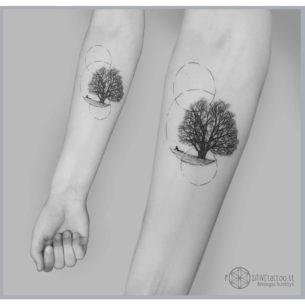Tree of Solitude Tattoo