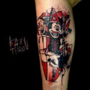 Wizard Mickey Tattoo