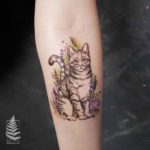Arm Cat Tattoo