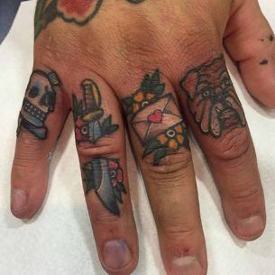 Fingers Tattoos