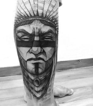 Indian Tattoo Design