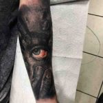 Psychiatric Eye Tattoo