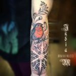 Robin Tattoo on Arm