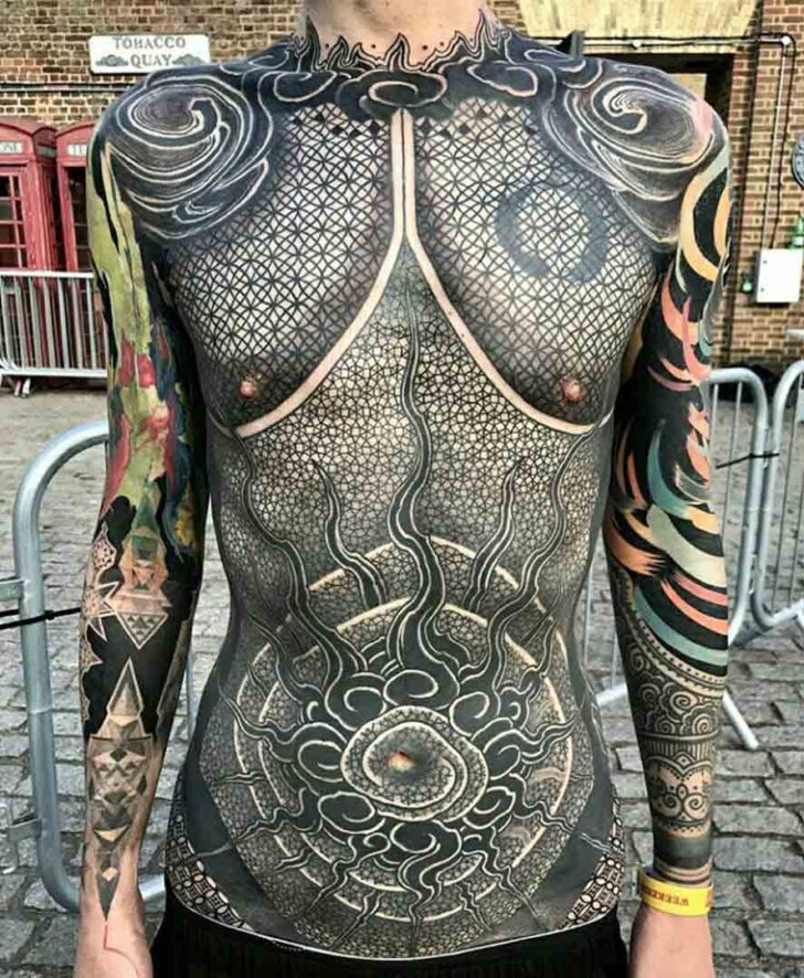 amazing full body tattoo