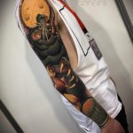 Werewolf Tattoo Sleeve