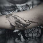 Whale Tattoo on Arm