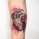 Anatomic Heart Tattoo