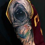 Casting Elements Tattoo on Shoulder