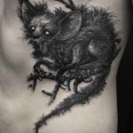 Chupacabra Tattoo