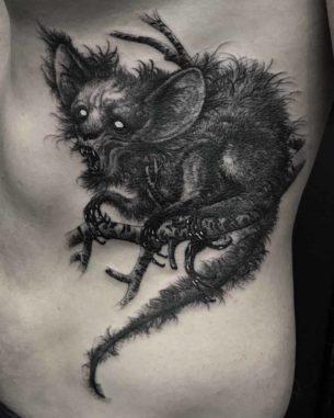 Chupacabra Tattoo