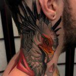 Eagle Neck Tattoo