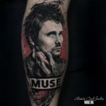 Matt Bellamy Tattoo Muse
