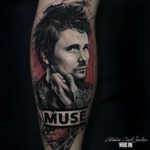 Matt Bellamy Tattoo Muse