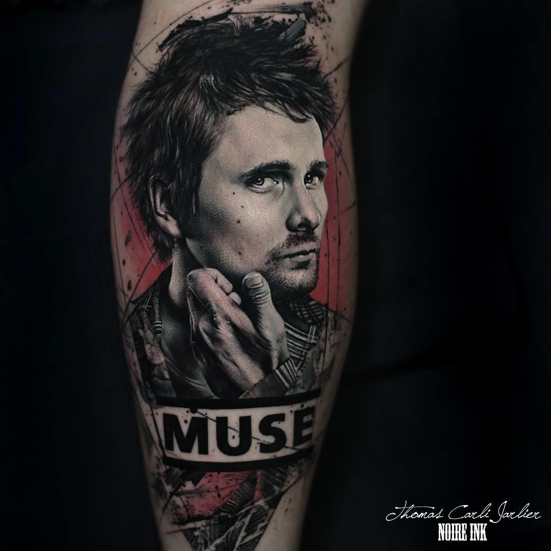 muse tattoo Matt Bellamy