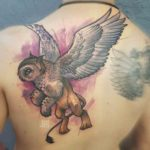 Owl Griffin Tattoo