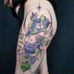 Succubus Tattoo on Hip