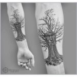 Wise Tree Tattoo