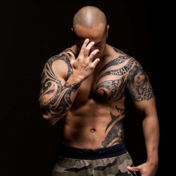 cool man tattoo
