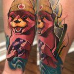 Canadian Otter Tattoo