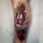 Deadpool Monroe Tattoo