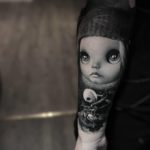 Doll Tattoo on Arm