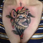 Gypsy Cat Tattoo