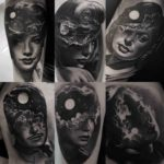 Moonlight Portraits Tattoos