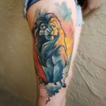 Mufasa Lion King Tattoo