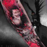 Ryuk Revenge Tattoo