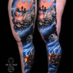 Space Star Wars Tattoo