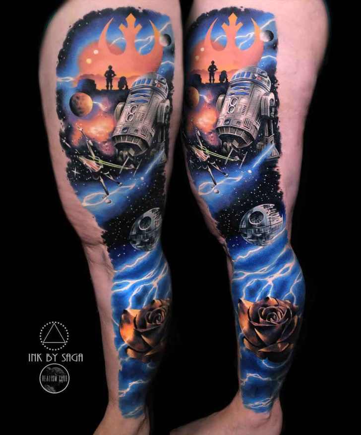 Star Wars Tattoos Best Tattoo Ideas Gallery
