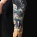 Space Telescope Tattoo Sleeve