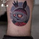 Weird Queen Tattoo