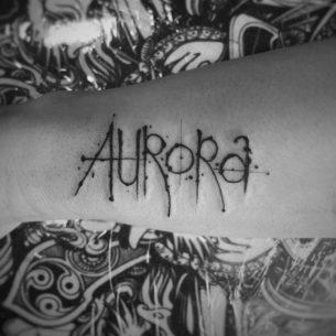 Aurora Tattoo Freehand