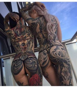 Girls Back Tattoos