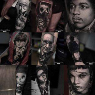 Portrait Tattoo Designs