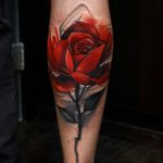 Red Rose Tattoo Designs