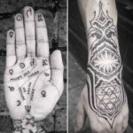 Spiritual Tattoos on Hands