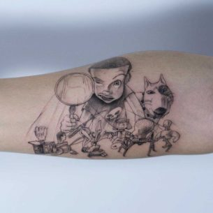 Toy Story Tattoo Sid