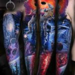 Black Hole Tattoo Sleeve