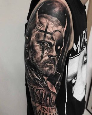 Captain Flint Tattoo