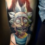 Insane Rick Tattoo
