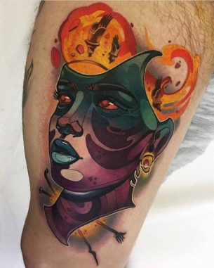 Iron Head Tattoo
