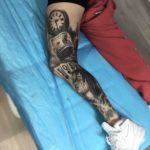 Leg Sleeves Tattoo