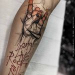 Long Live Rock-n-Roll Tattoo