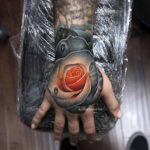 Rose Tattoo Hand