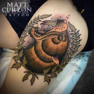 Saber Tooth Tattoo