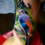 Silver-Breasted Broadbill Tattoo